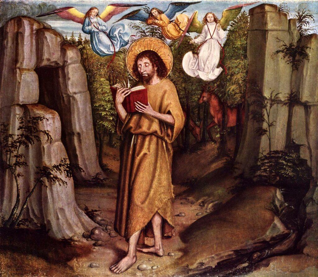 Nelkenmeister, Berner. John the Baptist in the Wilderness