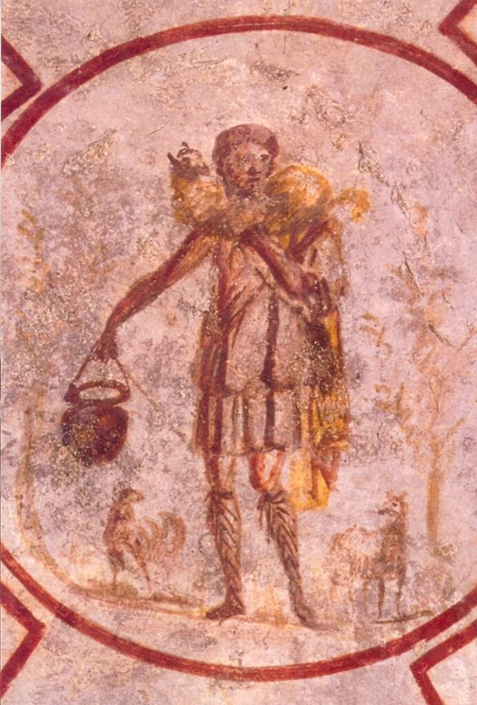 Catacomb of St. Callixtus - The Good Shepherd (3rd century)