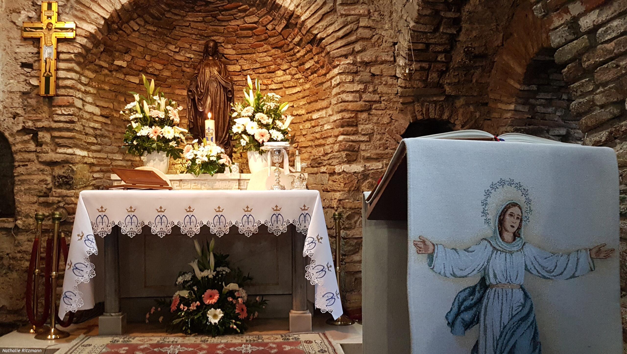 La casa della Vergine di Efeso