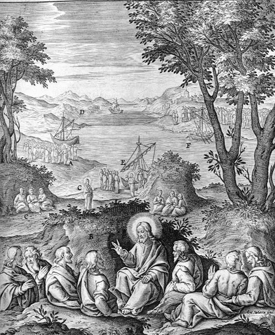 Jerome Nadal (1507-1580), Jesus teaches the disciples the message of eternal life